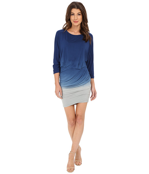 Young Fabulous & Broke - Clancy Dress (Blue Ombre) Women's Dress