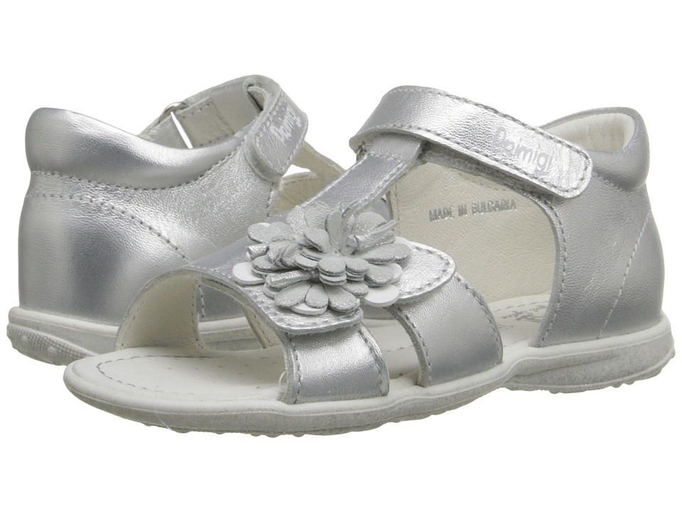 Primigi Kids - Galenia (Infant/Toddler) (Silver) Girls Shoes