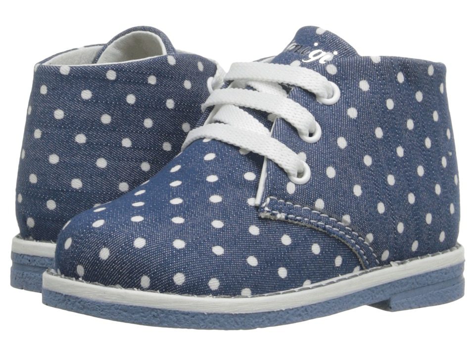 Primigi Kids - Zizzy (Toddler) (Blue Polka Dots) Girls Shoes