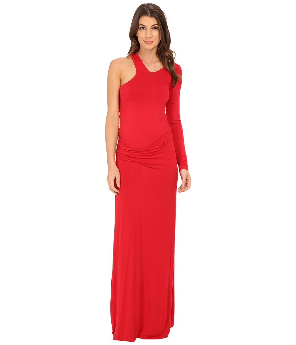 Young Fabulous & Broke - Vinny Maxi (Red) Women's Clothing