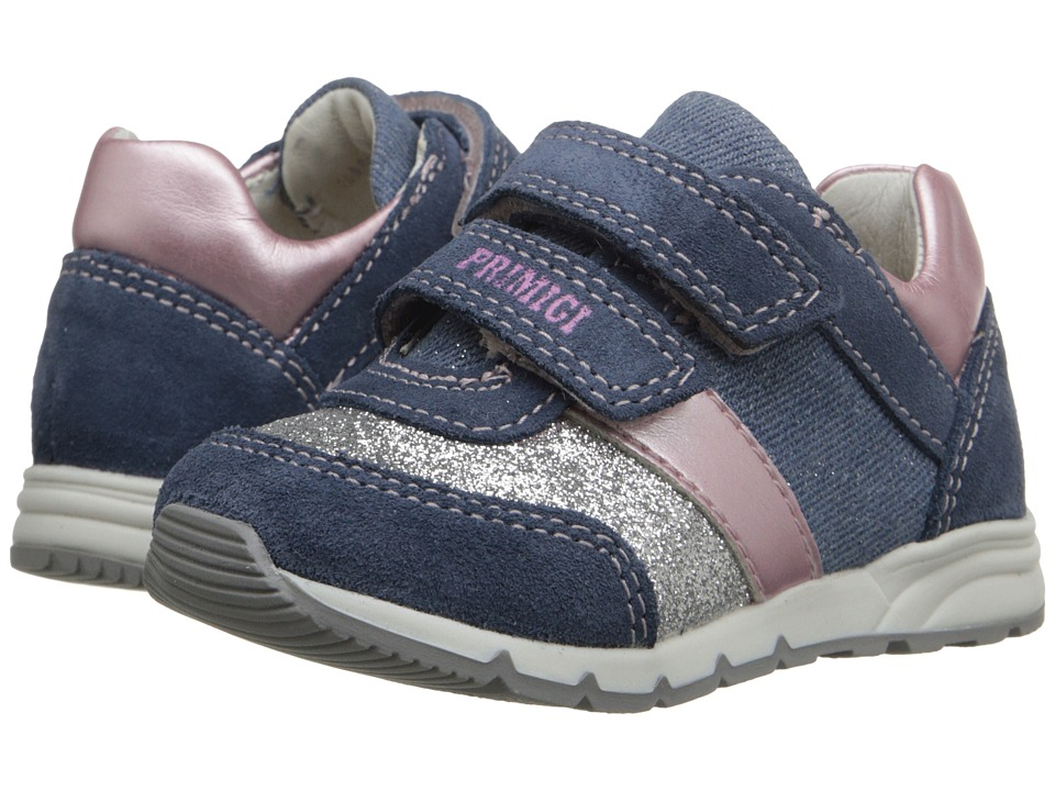 Primigi Kids - Ben (Toddler) (Blue) Girls Shoes