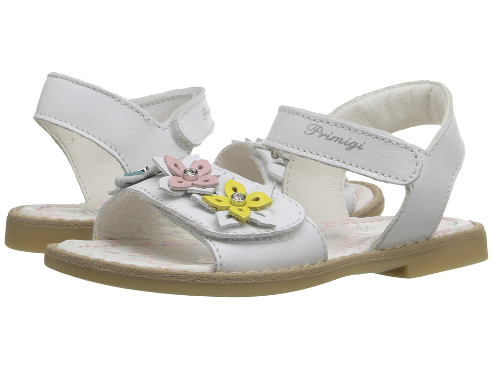 Primigi Kids - Ginessa (Toddler/Little Kid) (White) Girls Shoes