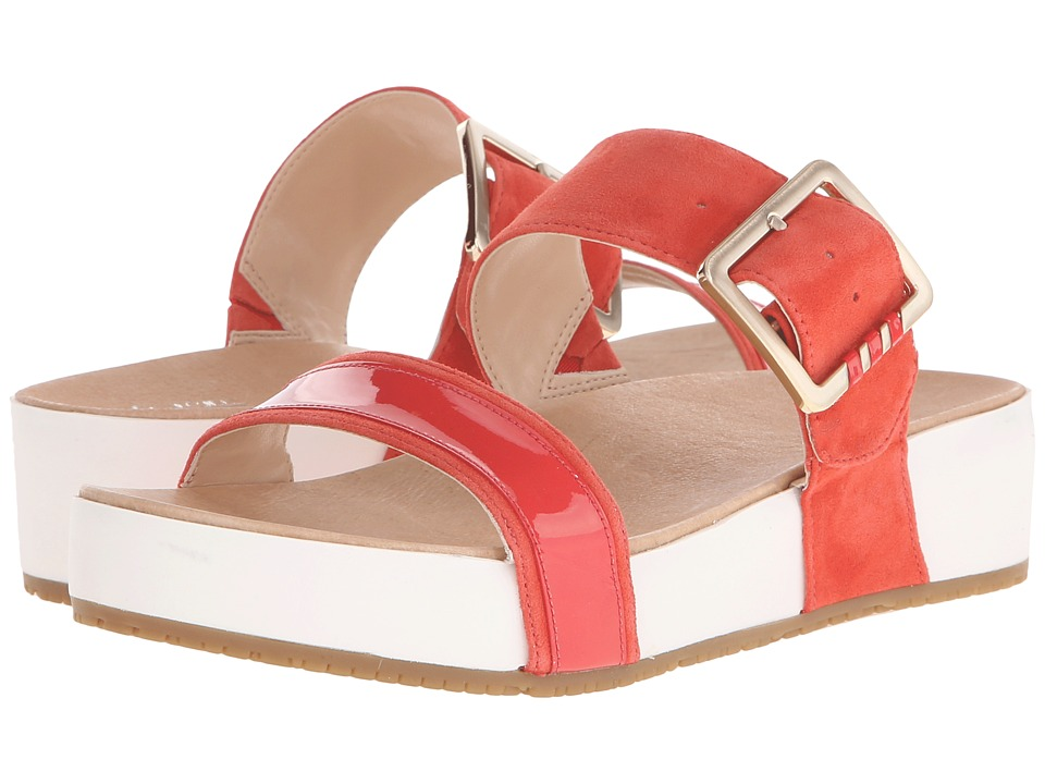 Dr. Scholl's - Frill - Original Collection (Flame/White Bottom) Women's Sandals