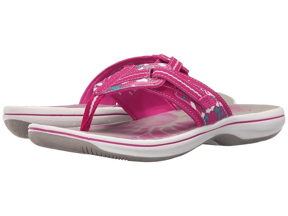 Womens Sandals Clarks Brinkley Jazz Pink Camo