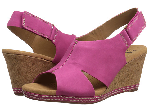Clarks - Helio Float 4 (Fuchia) Women