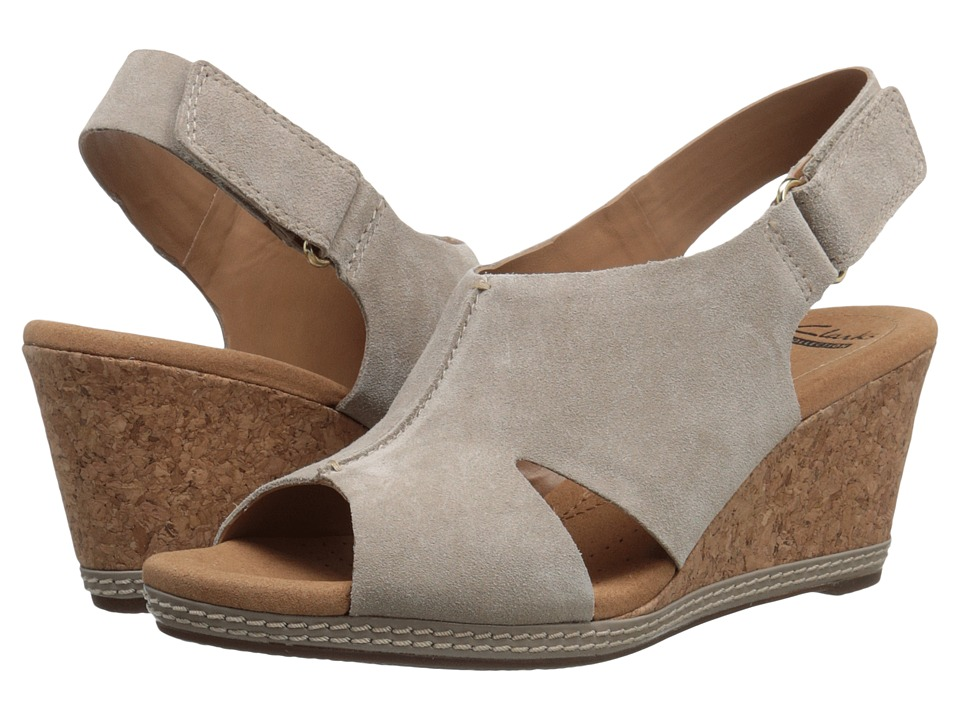 Clarks - Helio Float 4 (Sand) Women's Shoes