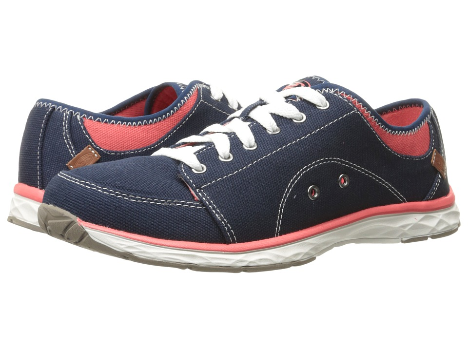 Dr. Scholl's - Anna (Navy Canvas) Women's Lace up casual Shoes