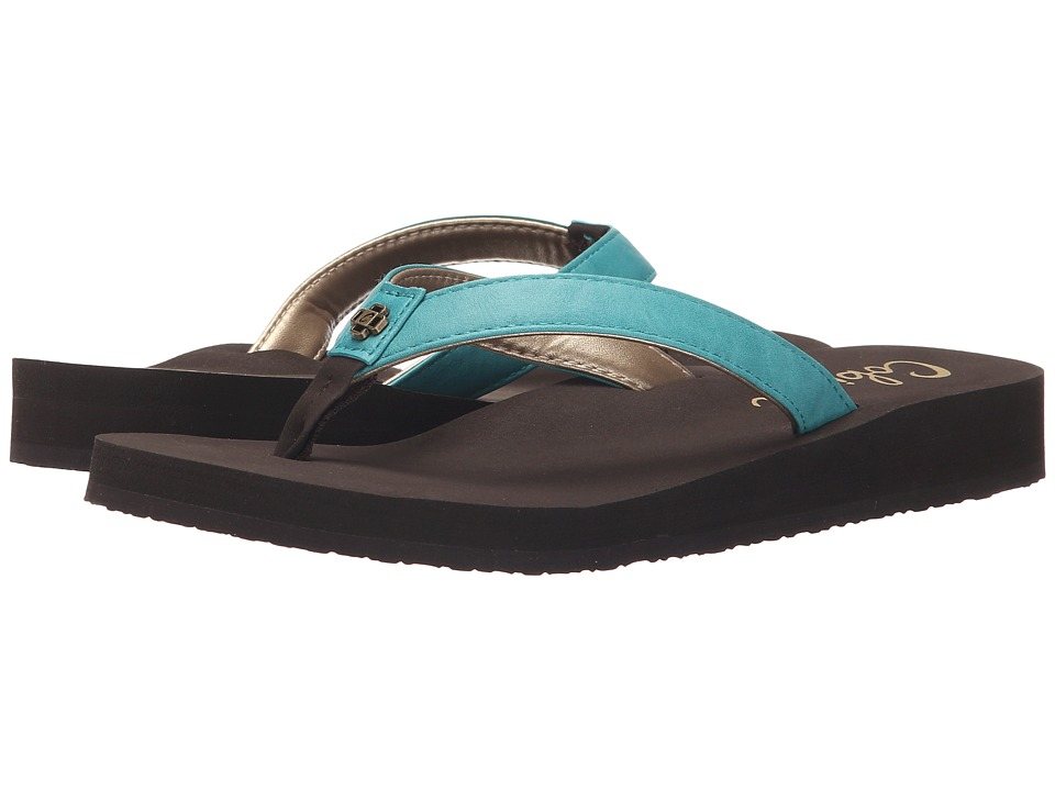 Cobian - Skinny Bounce (Teal) Women's Sandals