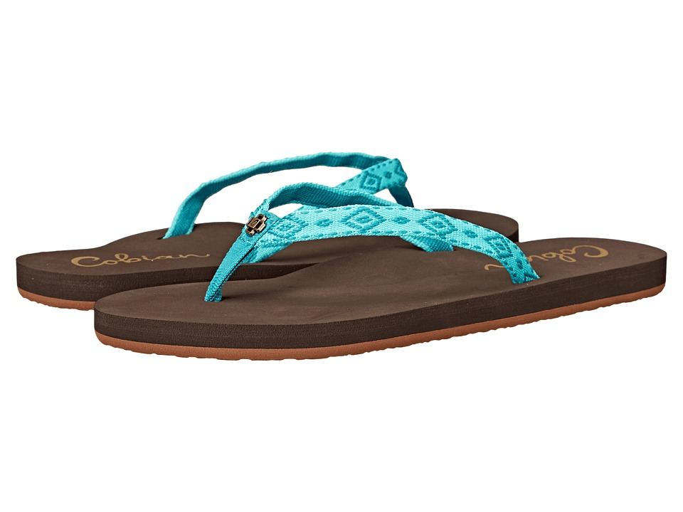 Cobian - Slim Bounce (Turquoise) Women's Shoes