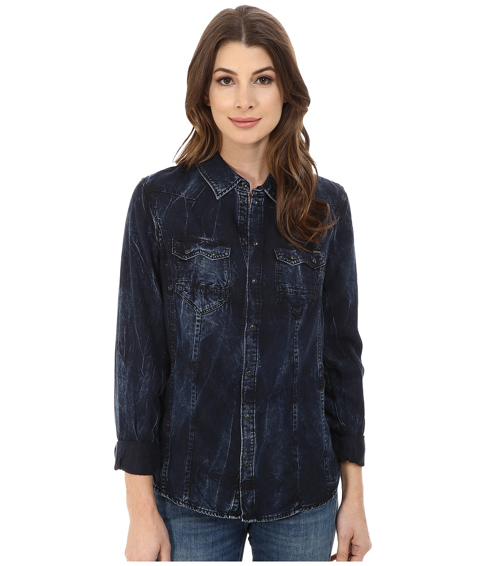 G-Star - Tacoma Western Shirt (Vintage Aged) Women's Long Sleeve Button Up