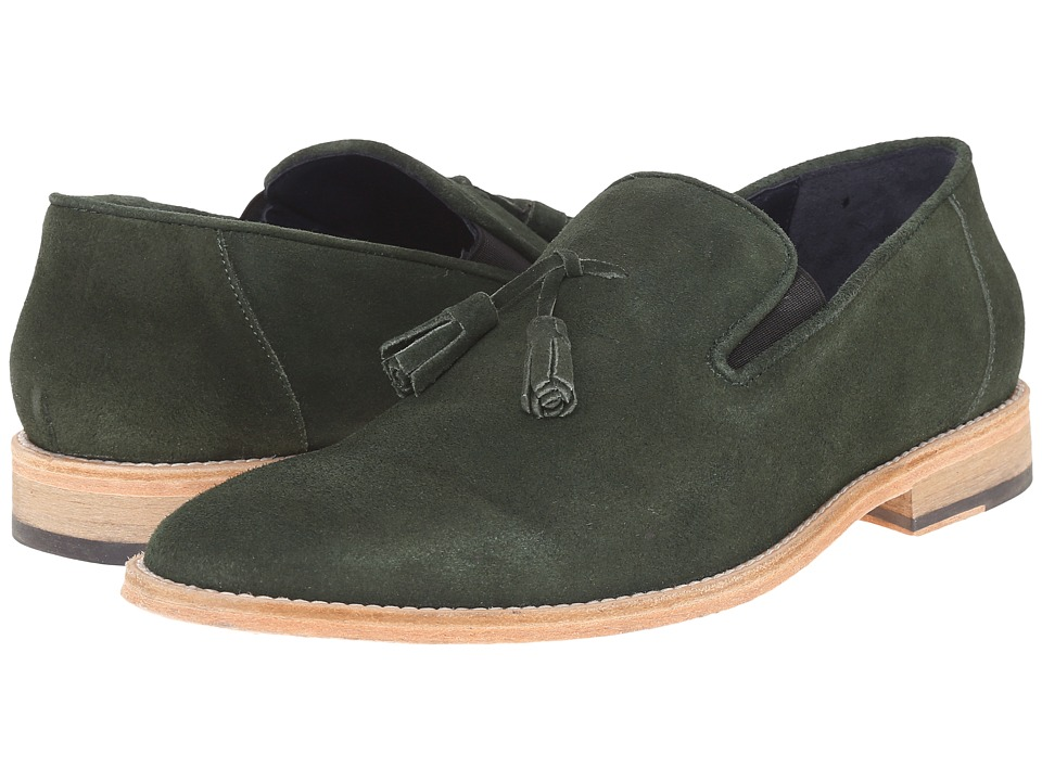 Messico - Berriz (Green Suede Leather) Men's Shoes
