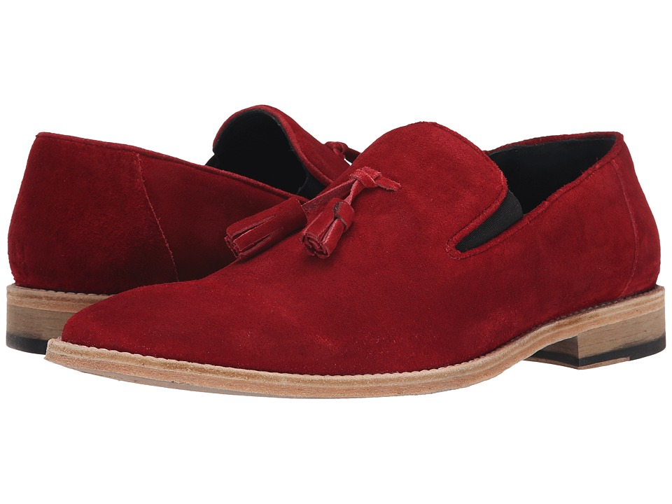 Messico - Berriz (Red Suede Leather) Men's Shoes