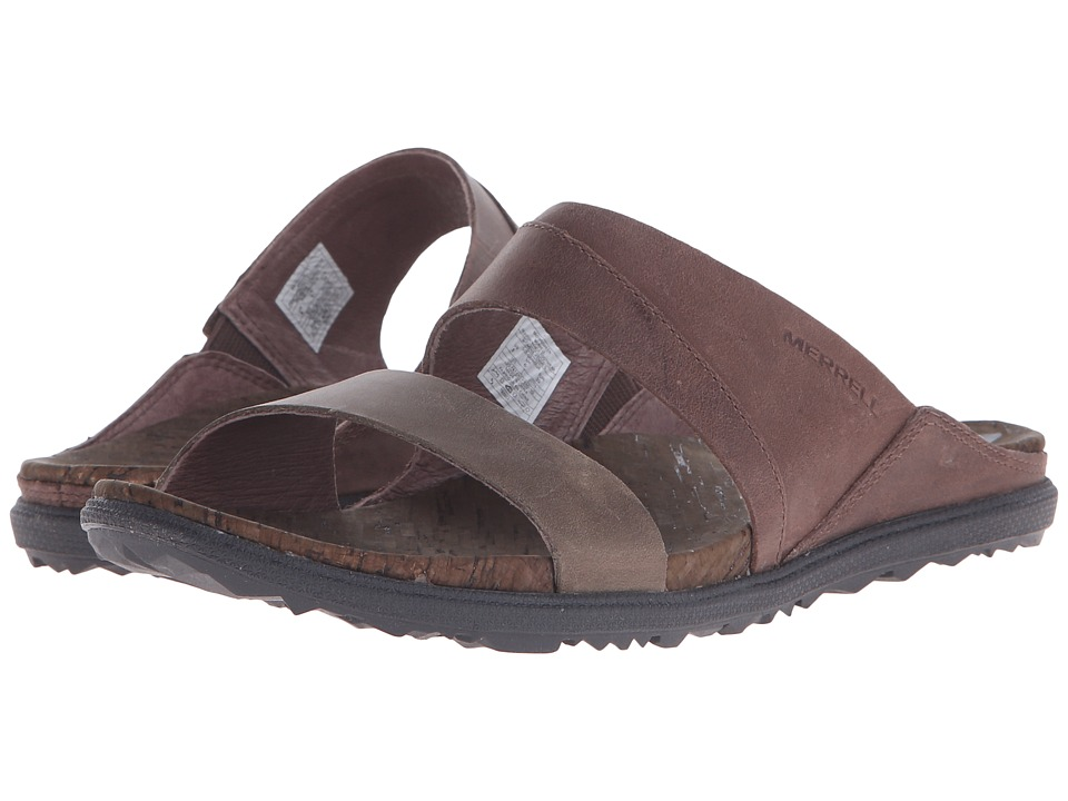 Merrell - Around Town Slide (Brown/Green) Women