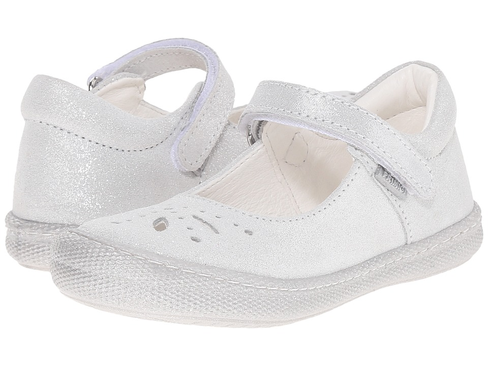 Primigi Kids - Clemence (Toddler/Little Kid) (Silver) Girls Shoes
