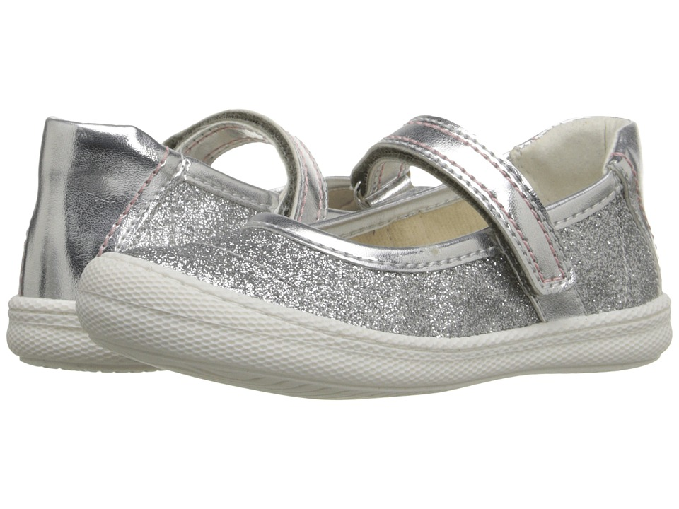 Primigi Kids - Steffy (Toddler/Little Kid) (Silver) Girls Shoes