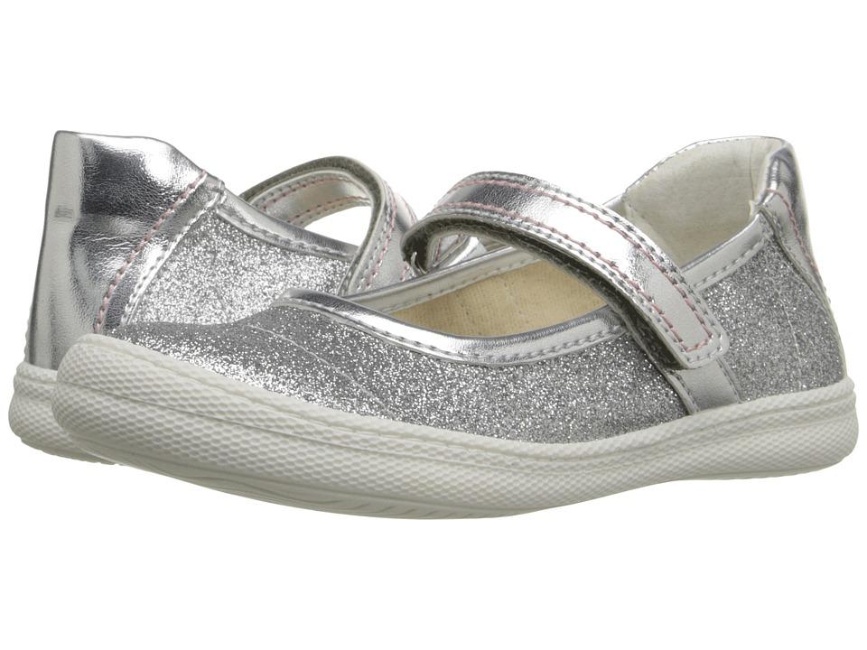 Primigi Kids - Steffy (Little Kid) (Silver) Girls Shoes