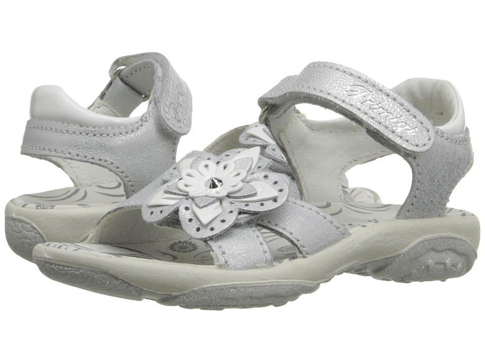 Primigi Kids - Dafne (Toddler/Little Kid) (Silver) Girls Shoes