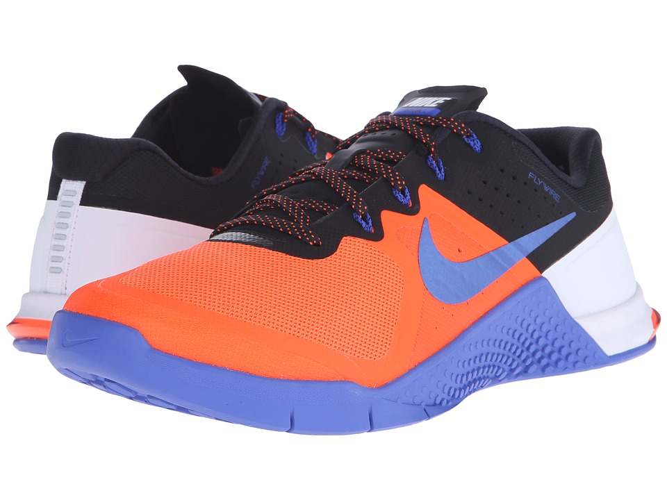Nike - Metcon 2 (Total Crimson/Racer Blue) Men's Cross Training Shoes