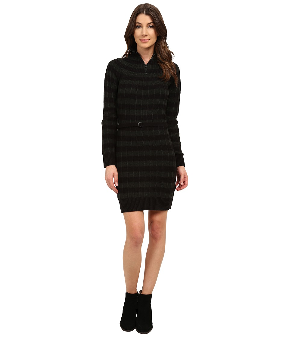 G-Star - Ave Long Sleeve Turtleneck Dress (Black) Women's Dress