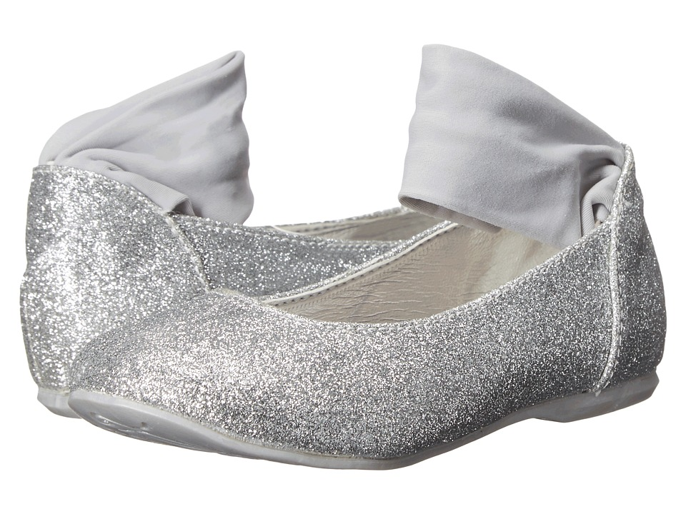Primigi Kids - Ginni (Toddler/Little Kid) (Silver Glitter) Girl's Shoes