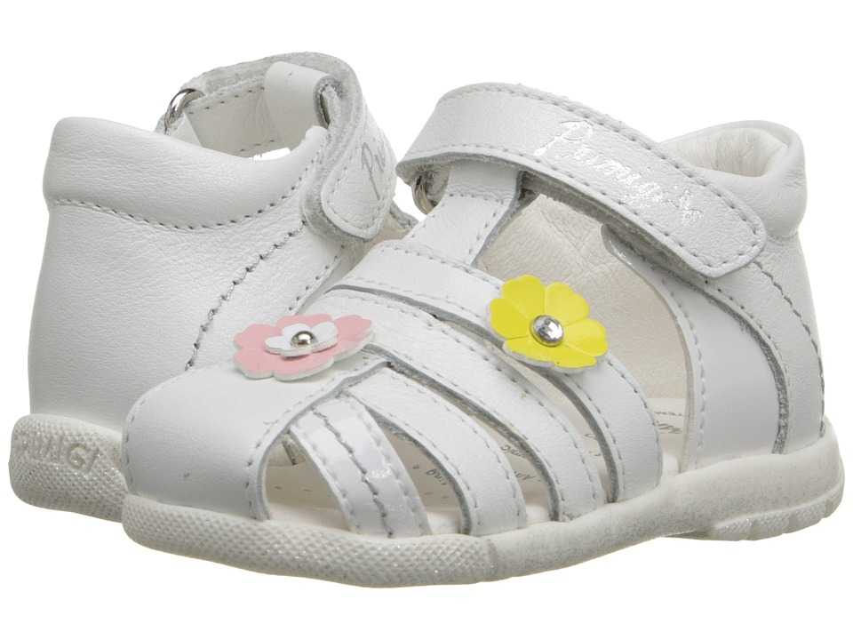 Primigi Kids - Madra (Infant/Toddler) (White) Girls Shoes