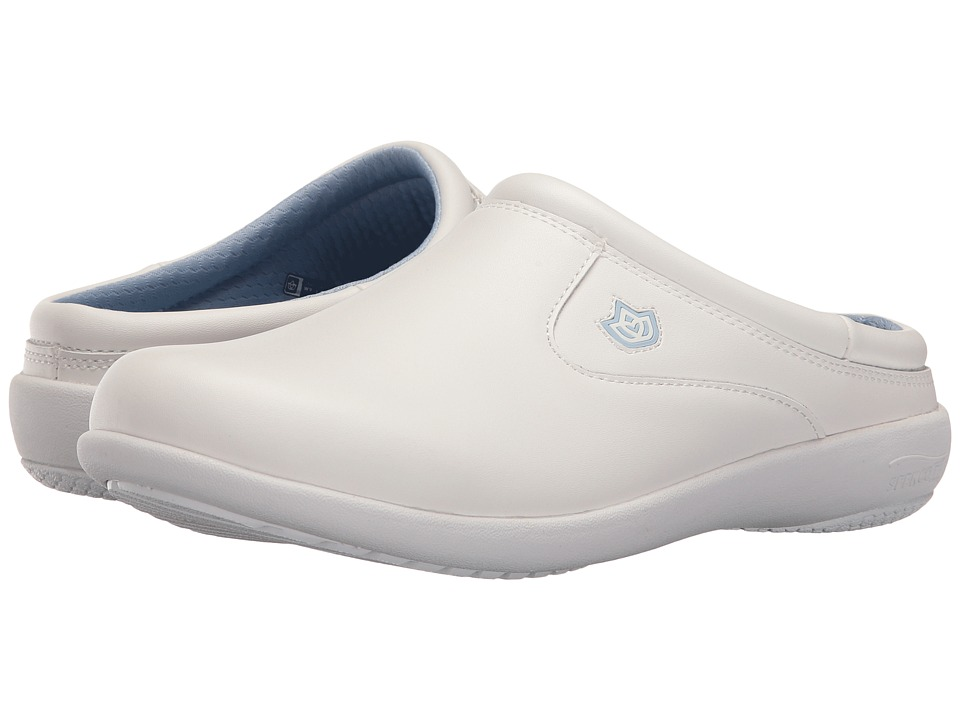 Spenco - Florence Medium Slide (White) Women's Shoes