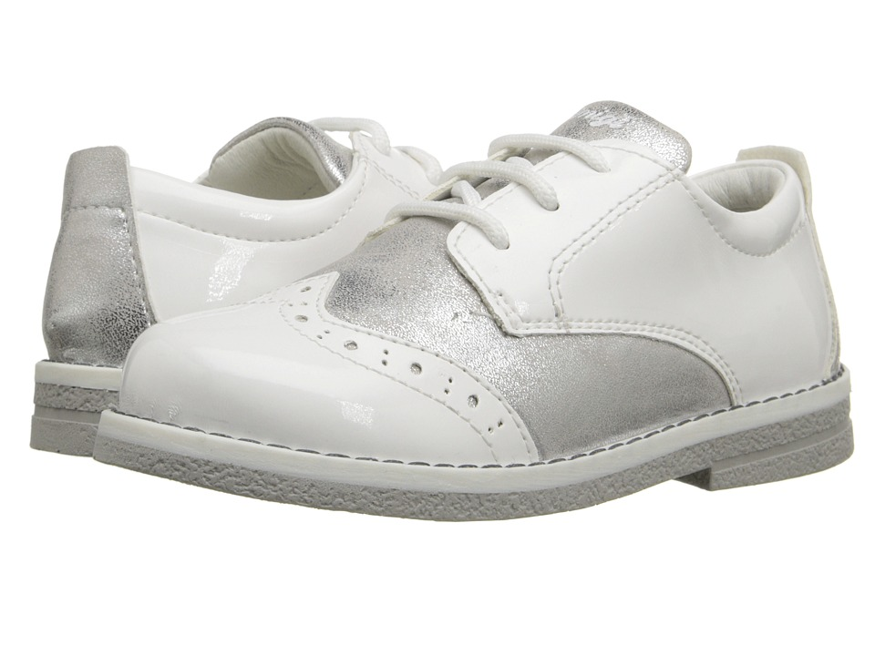 Primigi Kids - Dixy (Toddler) (White) Girls Shoes