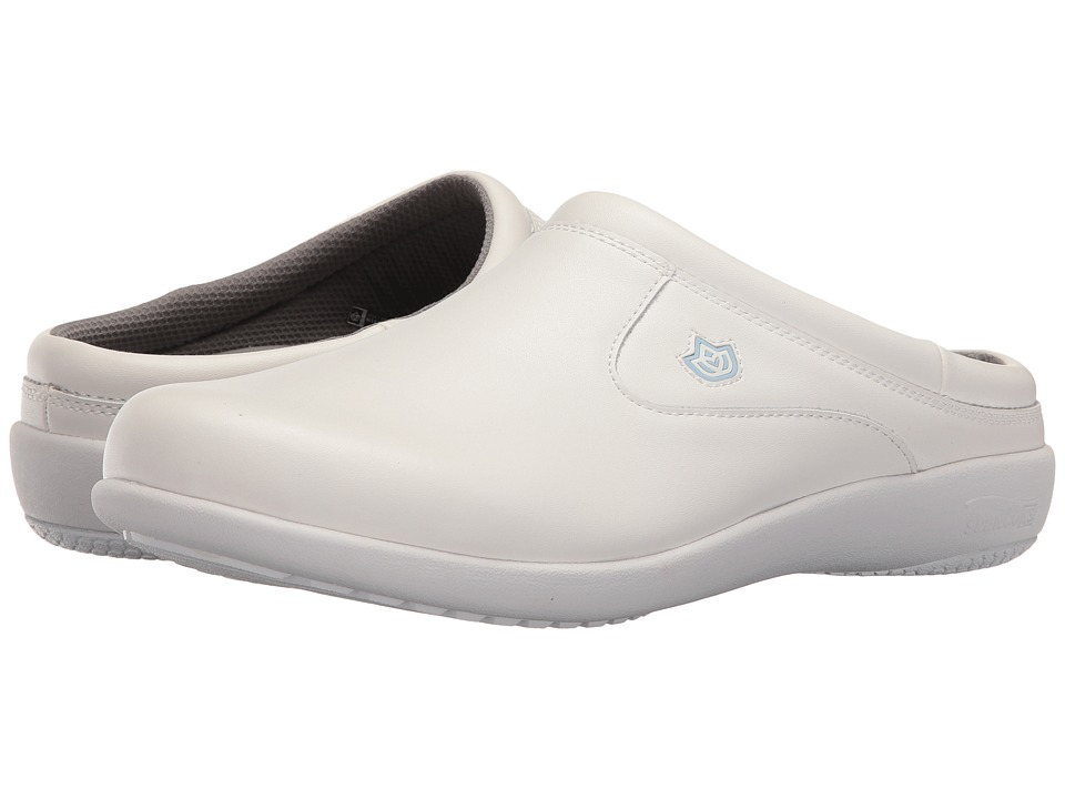 Spenco - Pierce Medium Slide (White) Men's Shoes