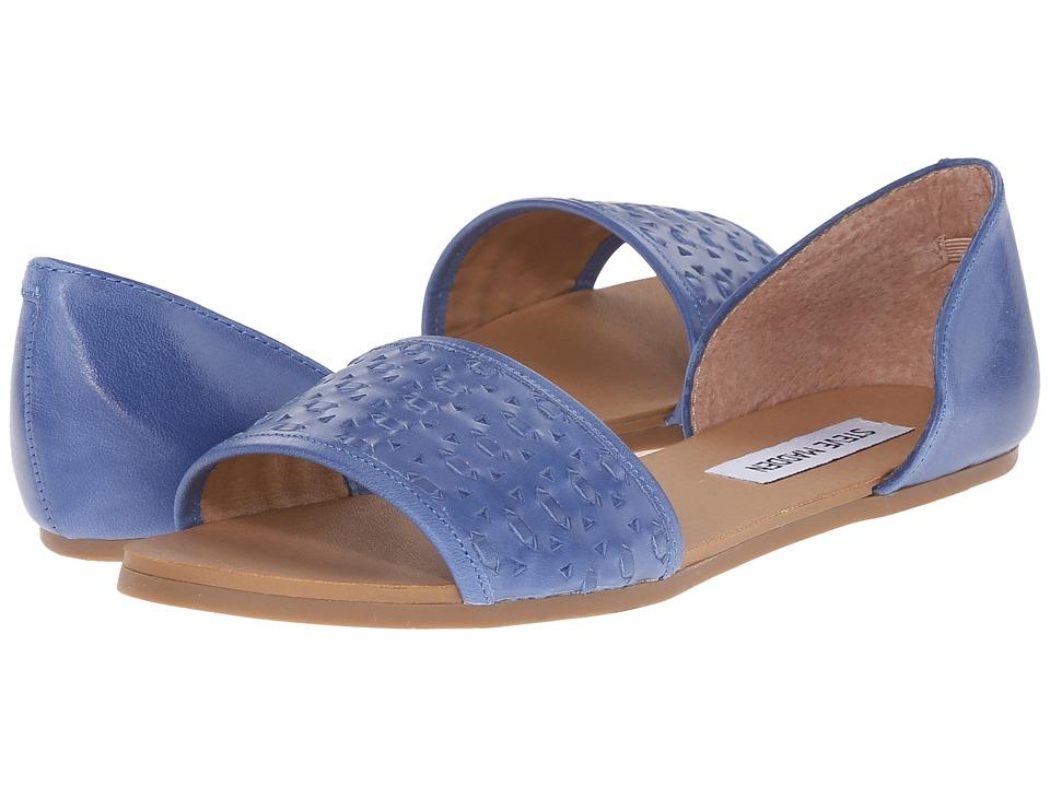 Steve Madden - Taylerr (Blue Leather) Women's Sandals