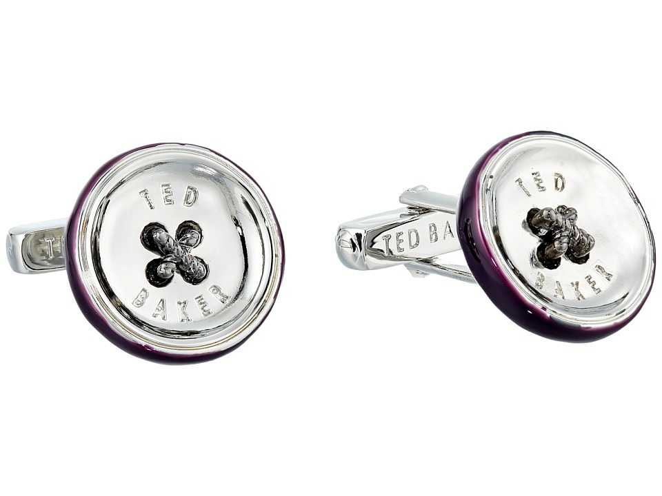 Ted Baker - Bcuff Button Cufflinks (Purple) Cuff Links