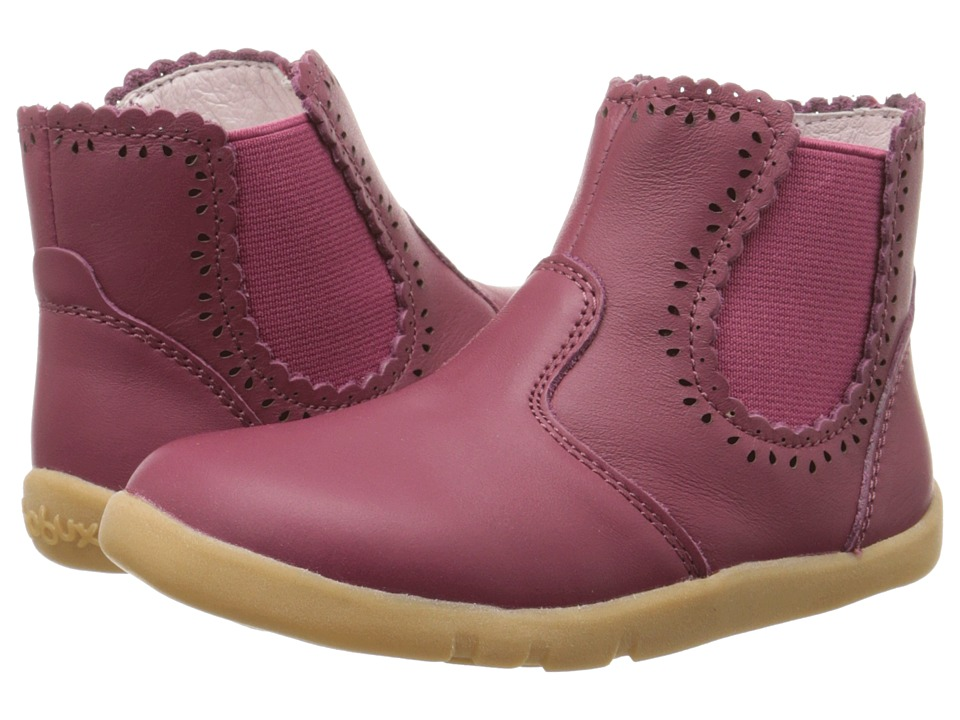 Bobux Kids - I-Walk Lucky Lacey Boot (Toddler) (Pink) Girls Shoes