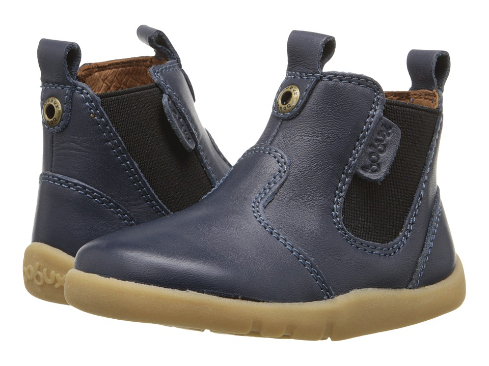 Bobux Kids - I-Walk Outback Boot (Toddler) (Navy) Kids Shoes