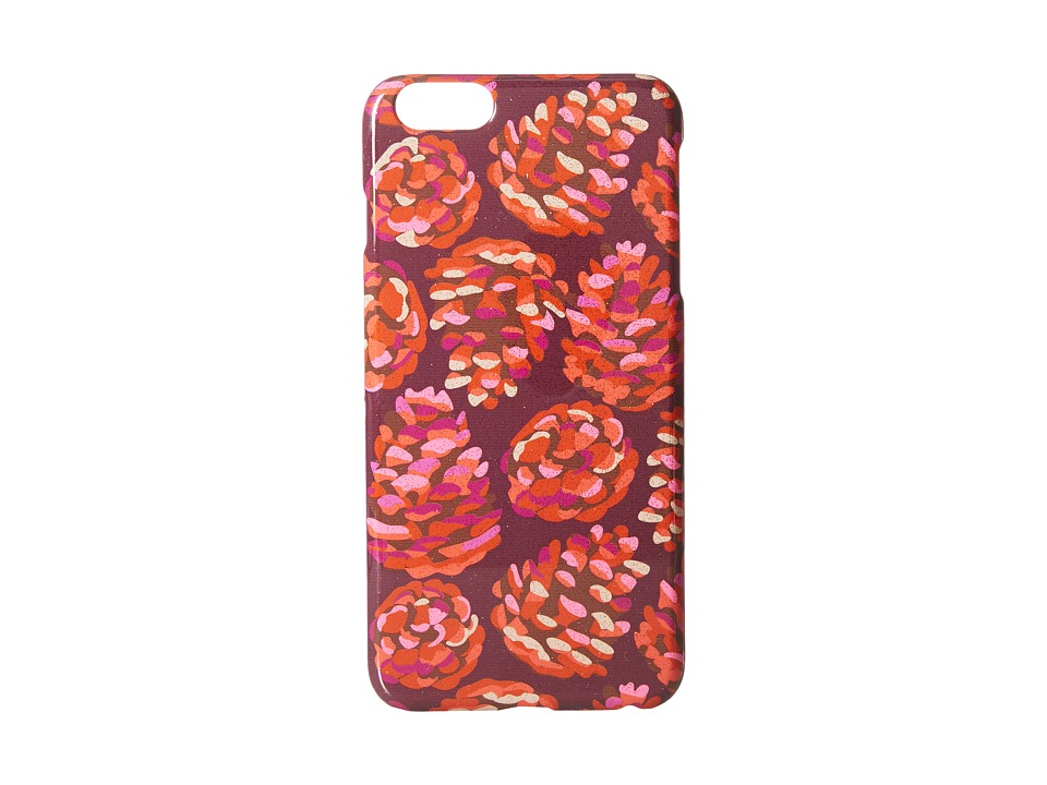 Vera Bradley - Snap on Case for iPhone 6 Plus (Rosewood Pinecones) Cell Phone Case