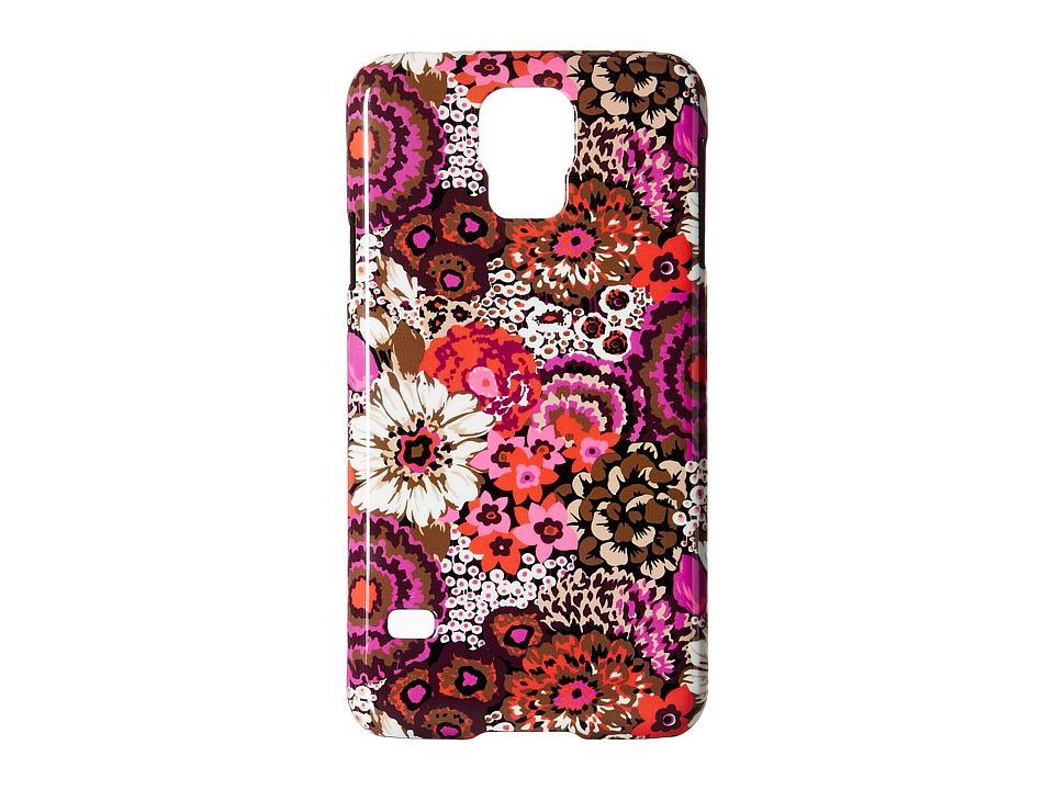 Vera Bradley - Snap on Case for Samsung Galaxy S 5 (Rosewood) Cell Phone Case