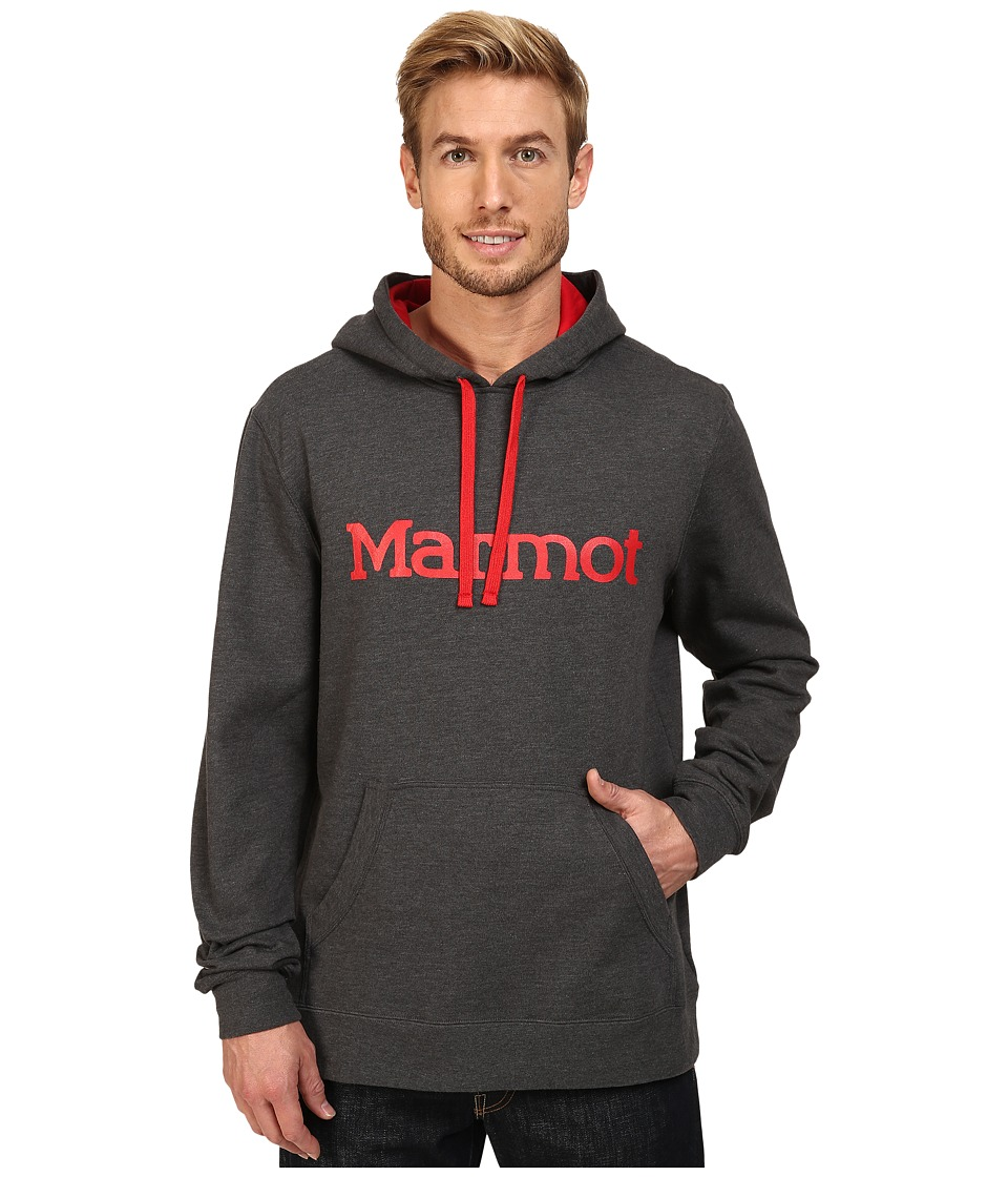 Marmot - Marmot Hoodie (Slate Grey) Men's Clothing