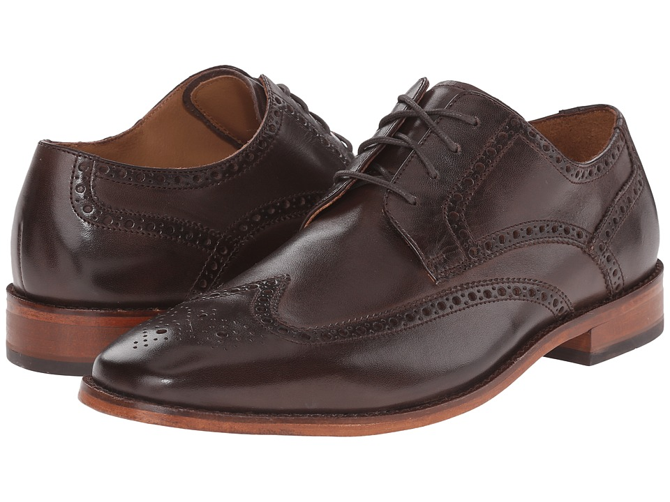 Cole Haan - Giraldo Wing Tip II (Chestnut) Men