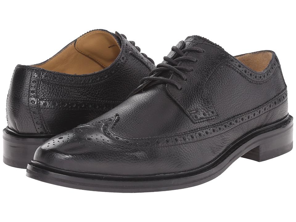 Cole Haan - Williams Welt Long Wing II (Black) Men's Shoes