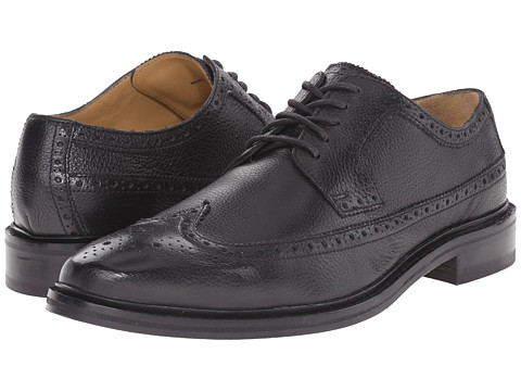 Cole Haan - Williams Welt Long Wing II (Black) Men