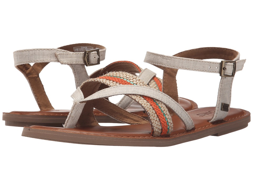 TOMS - Lexie Sandal (Natural Multi/Woven Stripe) Women's Sandals
