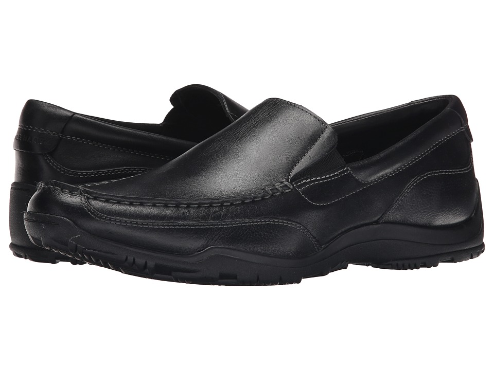 Cole Haan - Hughes Grand Slip-On II (Black) Men's Shoes