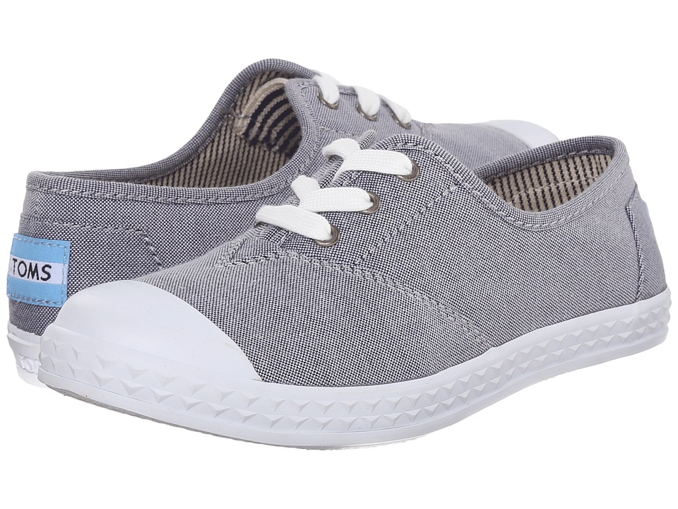 TOMS Kids - Zuma Sneaker (Little Kid/Big Kid) (Light Blue Chambray) Kids Shoes