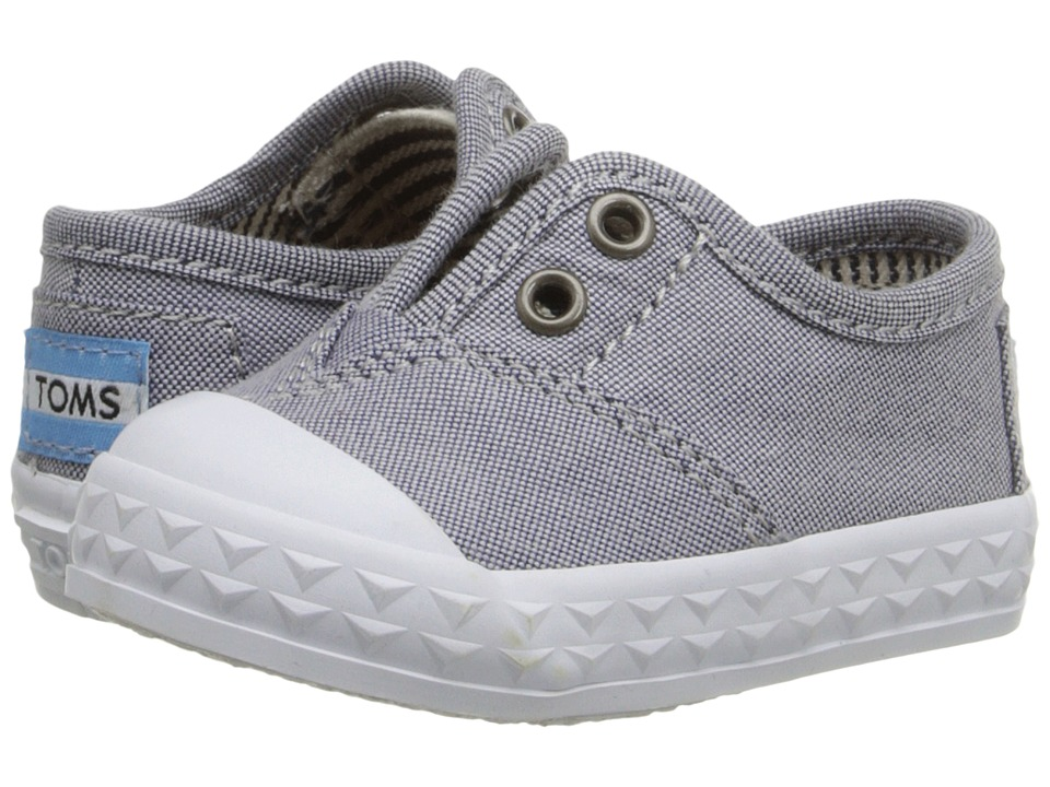 TOMS Kids - Zuma Sneaker (Infant/Toddler/Little Kid) (Light Blue Chambray) Kids Shoes
