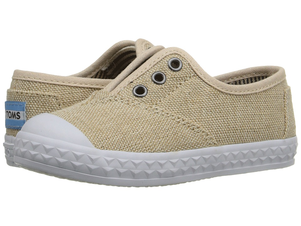 TOMS Kids - Zuma Sneaker (Infant/Toddler/Little Kid) (Natural Burlap) Kids Shoes