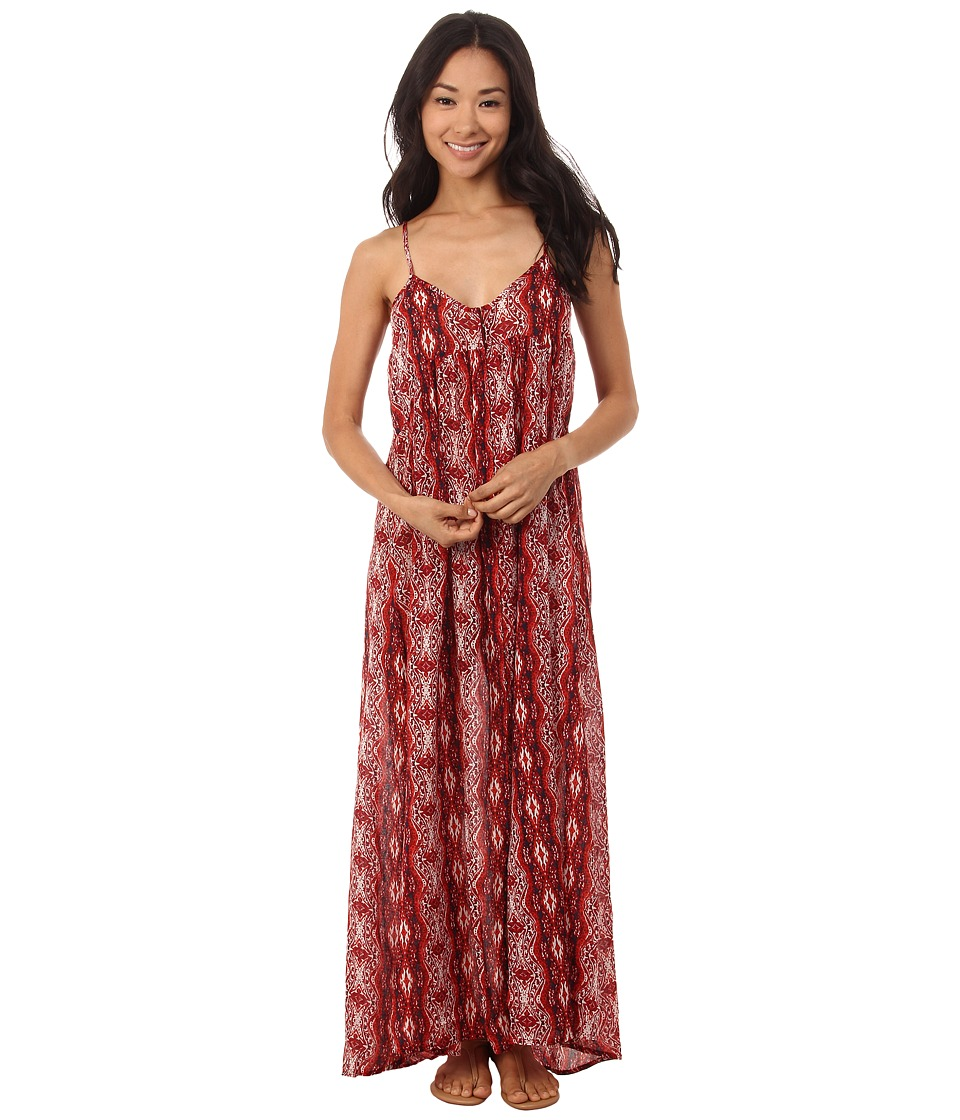 Volcom - Shifting Sands Dress (Blood Red) Women's Dress