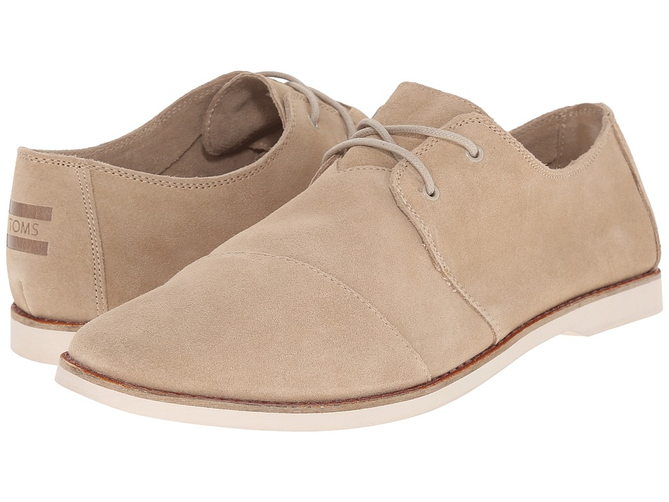 TOMS Hensley Lace-Up (Oxford Tan Suede) Men