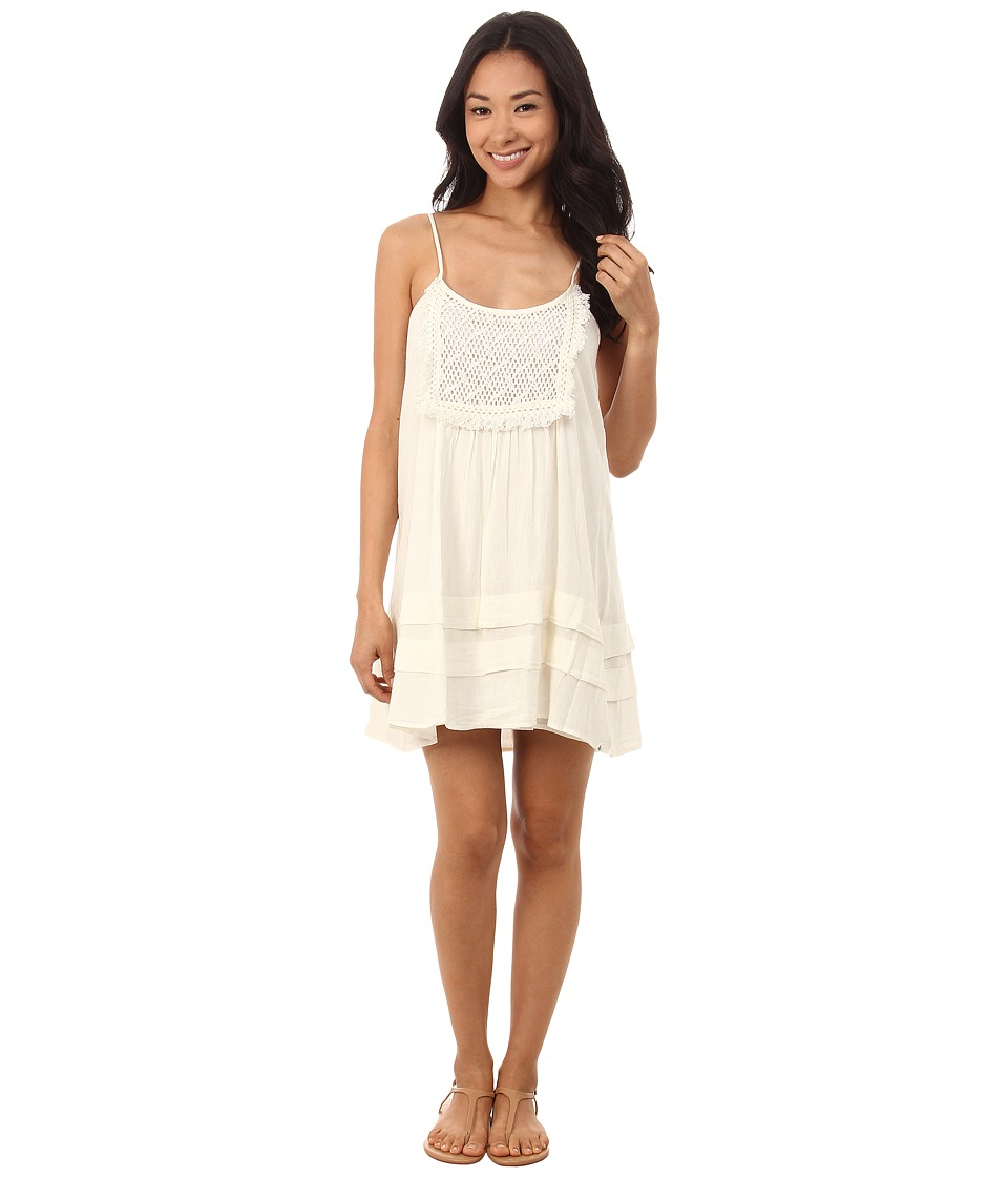 Volcom - Lost Highway Dress (Bone) Women's Dress