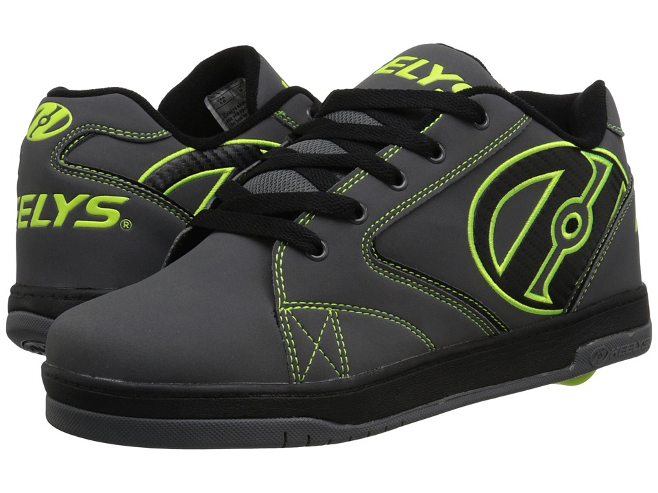 Heelys - Propel 2.0 (Grey/Black/Bright Yellow) Boys Shoes