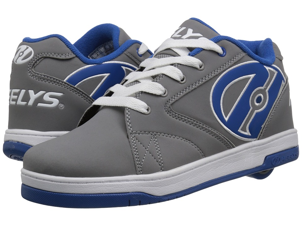 Heelys - Propel 2.0 (Grey/Royal/White) Boys Shoes