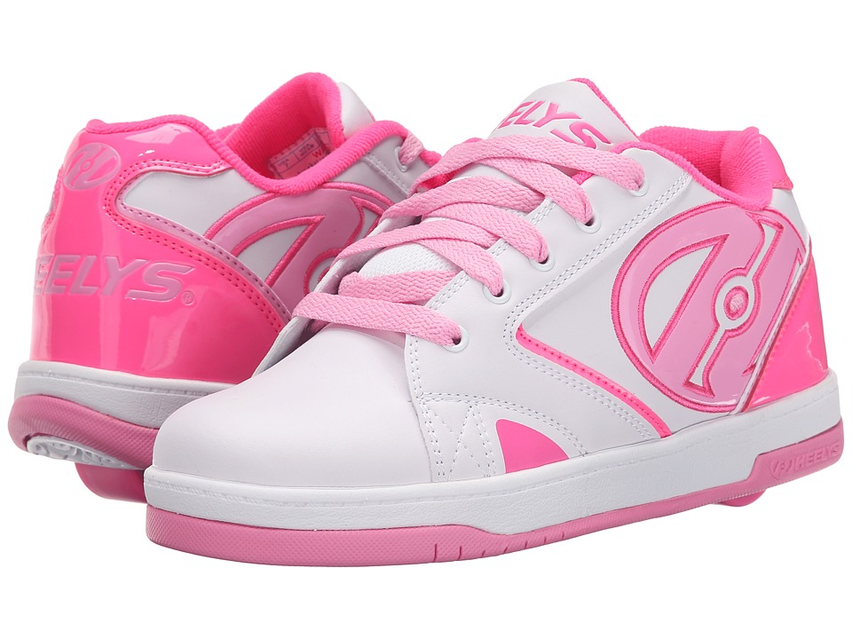 Heelys - Propel 2.0 (Little Kid/Big Kid/Adult) (White/Hot Pink/Light Pink) Girls Shoes