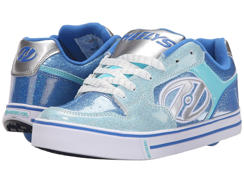 Heelys - Motion Plus (Little Kid/Big Kid/Adult) (Royal/New Blue/Ice Blue) Girl's Shoes